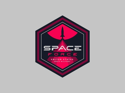 Space Force Badge Design