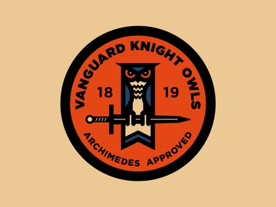 Knight Owls - Badge