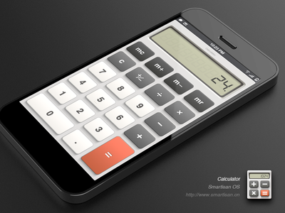 Calculator for Smartisan OS app icon ios iphone calculator paco china ui android rom os button