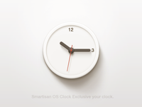 Clock smartisan os icons android rom paco china ui ios clock icon time