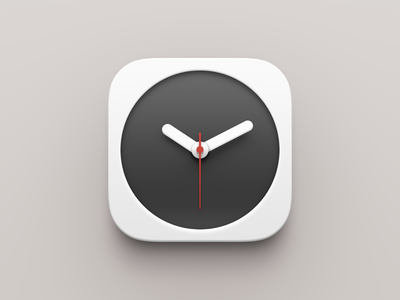 Smartisan Clock clock time ios smartisan china white iphone ui alarm stopwatch timer worldclock