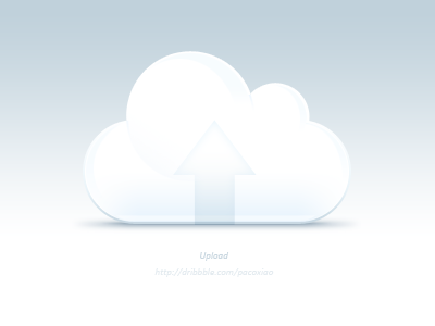 Cloud upload icon icon logo cloud upload pure paco