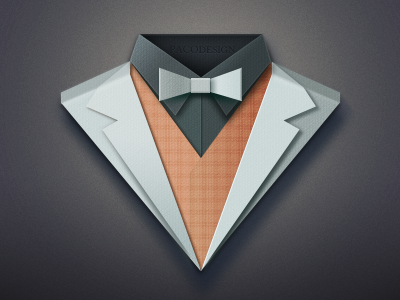 Paper Suit logo icon china paper paco suit