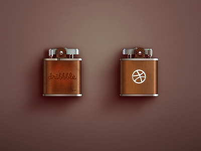 Dribbble Lighter icon logo ios paco dribbble lighter china gift