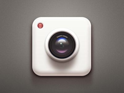 Camera iOS Icon app logo icon application ios iphone camera paco china polaroid