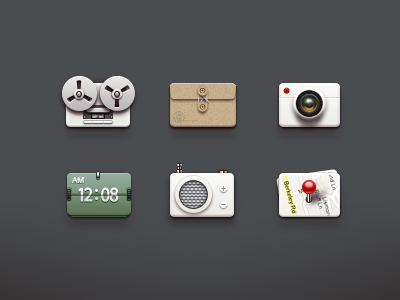 Icons icon icons paco maps time camera recorder countdown audio