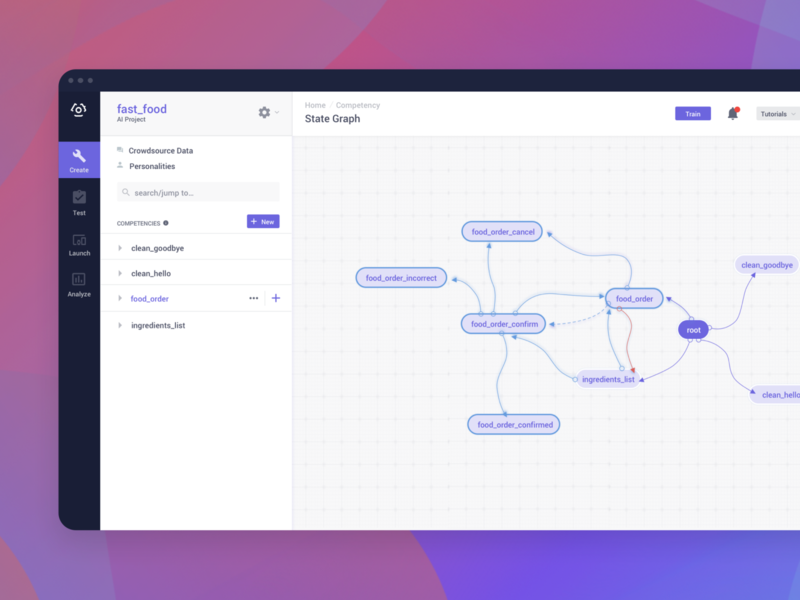 Conversational AI Platform design conversational ui branding ux ui saas design ai