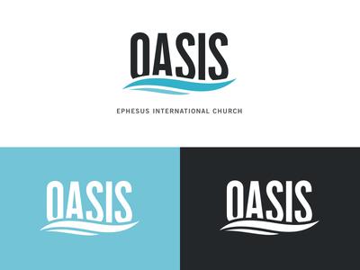 Oasis Logo Design by Jordan Ouellette - Dribbble Oasis Water Logo