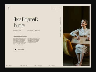 Editorial layout designer app freelance paris design meneur thadde clean ux ui