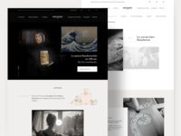 Boucheron website redesign