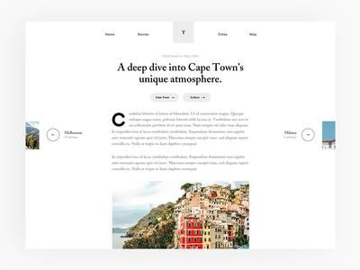 #17 Blog article tryout article blog meneur thadde freelance paris designer design app ux ui clean
