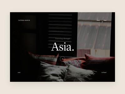 Menu animation fullscreen nav menu interaction user paris meneur thadde designer freelance design clean ux ui