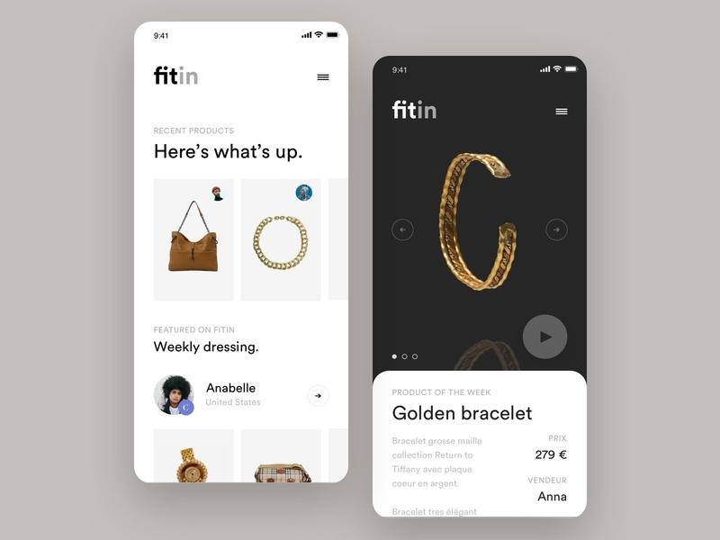 Luxury Exploration interaction freelance app paris design meneur thadde clean ux ui