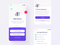 GipsyBot — Onboarding tonik branding user flow calendar task todo interface experience user onboarding ux ui ios application app mobile design product design product