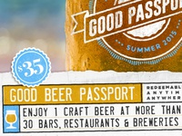 The Good Beer Passport - Summer 2015