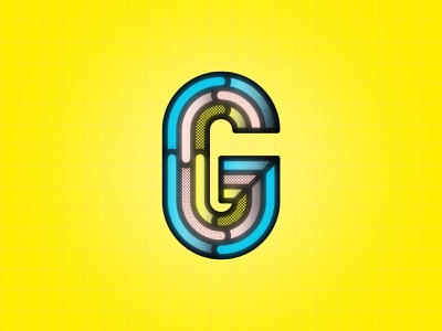 G 36DOT08 facets chiesel 36days08 36days 36dot08 36daysoftype vector geometric letter-g g