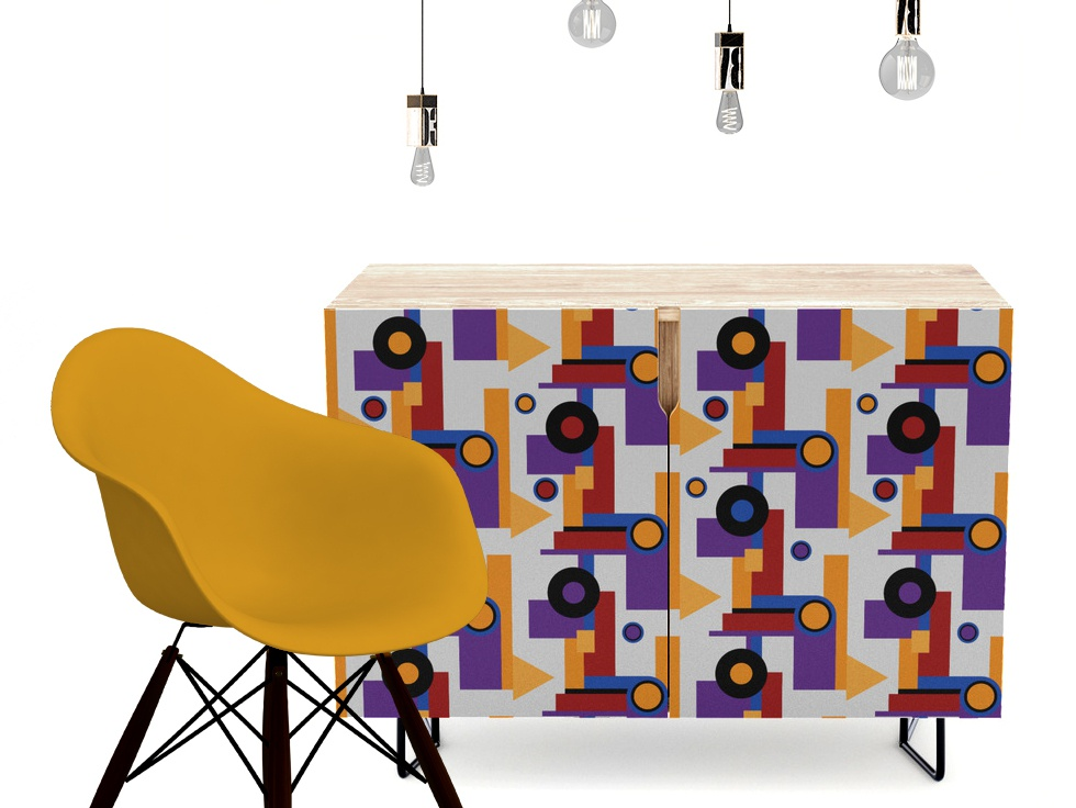Bauhaus pattern Furniture home design home decor furniture retro design retro style retro patterns pattern design pattern bauhaus