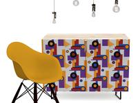 Bauhaus pattern Furniture