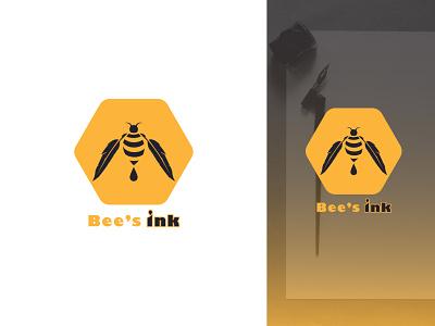 Bee's Logo concept logo challenge beelogoconcept bee bees logo beeswax logo concept bdlogodesign bangladeshi logo designer bangladesh minimalist logo logo ideas logodesign design bangladeshi illustration logo
