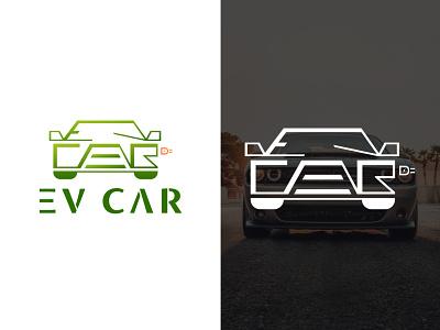 EV Cars nature electric car bdlogodesign bangladeshi logo designer bangladesh minimalist logo logo ideas logodesign design bangladeshi illustration logo