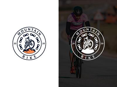 Mountain Bike mountain bikes mountain logo mountain bike logo cycle logo bdlogodesign bangladeshi logo designer bangladesh minimalist logo logo ideas logodesign design bangladeshi illustration logo