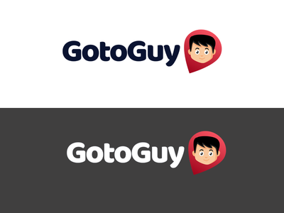 Gotoguy Logo branding illustrator product logo logo