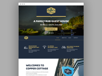 Copper Cottage Website Design
