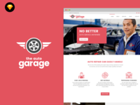 Auto Garage website template