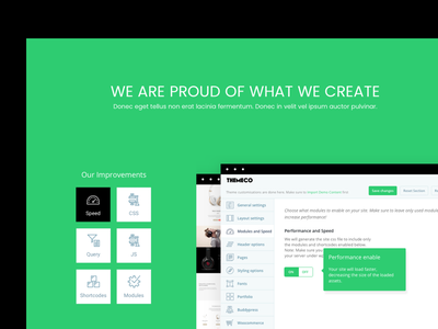 Product Feature Section web landing page ux ui app design typography design