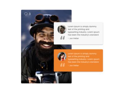 Web Elements app design web ux ui landing page branding