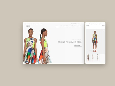Løge wordpress template ecommerce commerce wordpress theme web theme branding graphic design 3d