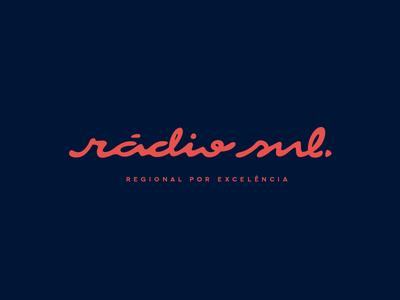 Identidade Visual para Rádio Sul - Porto Alegre/RS - Brazil