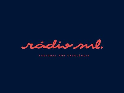 Identidade Visual para Rádio Sul - Porto Alegre/RS - Brazil gilnei silva logotipo logo identidade visual corporativa branding