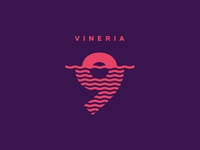 Vineria 9 - Branding and visual identity