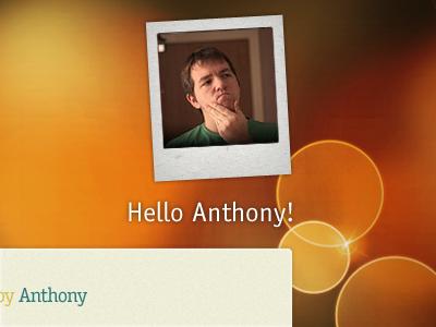 Hello Anthony!