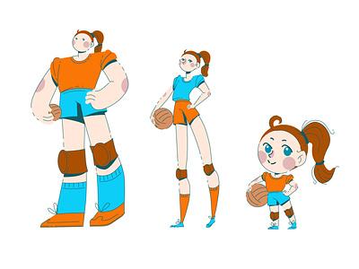 Сharacter styles character vector illustration design