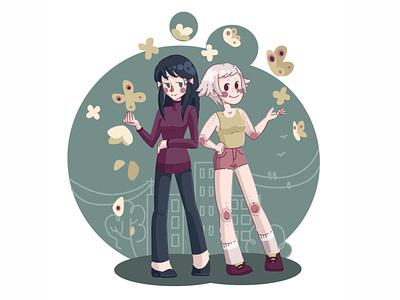 Сharacters character vector illustration design