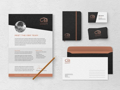 Legacy Design Agency: Roofing Company Branded Print Material. roofing logo illustration gold and black emboss logo design construction logo builders logo bronze logo branding black and gold
