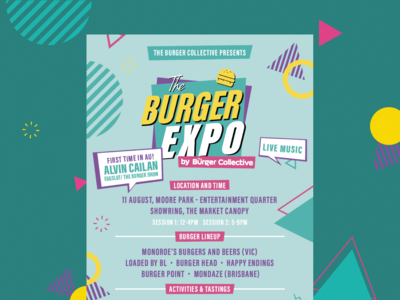 Burger Expo / Promotional Flyers
