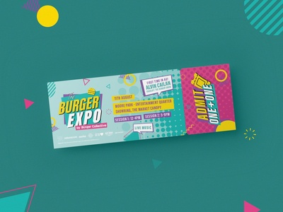 Burger Expo / Tickets & Banners