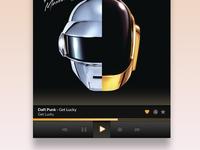 Google music desktop player prototype