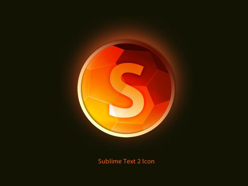 [Free] Sublime Text 2 icon icon freebie sublime text sublime text 2 fire orange app