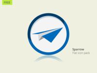 [FREE] Sparrow Flat Icon