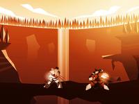 Street Fighter Fight Scene - [Full view in.]