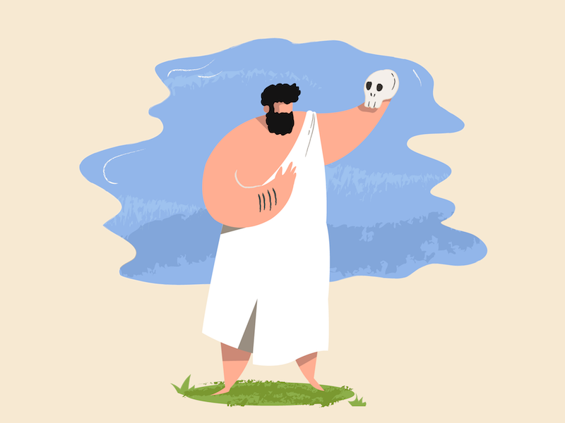 P is for Philosopher by Samuel Markiewicz on Dribbble