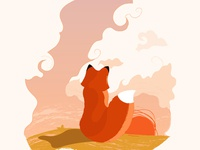 A Fox In The Evening [Full View incl.]