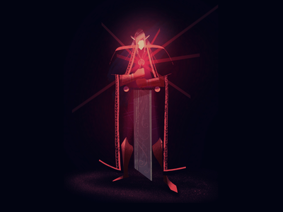 Neon Knight 🧝♂️🤟 lille fantasy neon sword knight digital art procreate art character design character illustrator illustration