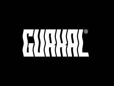 GURKAL typography logo illustrator vector minimal illustration design