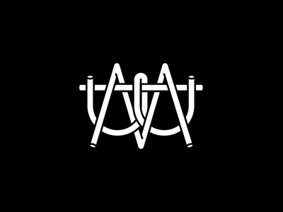 Material Boys typography logo illustrator vector minimal design