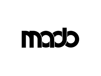 MADO branding typography logo vector minimal illustrator design